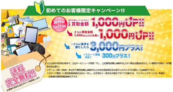 BUY王初回取引5,300円上乗せキャンペーン詳細